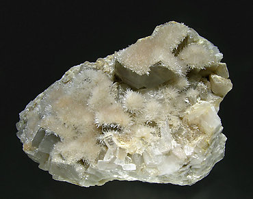 Aragonite on Dolomite.