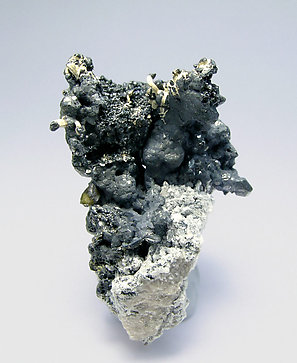 Acanthite with Silver.