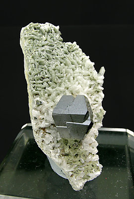 Anatase with Albite and Quartz.