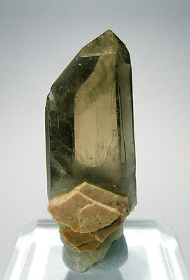 Smoky Quartz with Microcline.