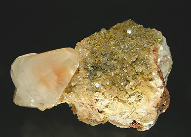 Calcite. Side