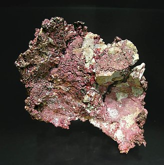 Cuprite (variety chalcotrichite) with Copper.