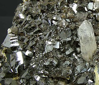 Cassiterite with Quartz and Siderite.