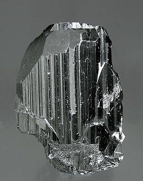 Ferberite with Quartz. Side