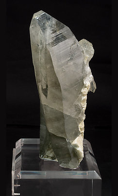 Smoky Quartz with Feldspar. Side