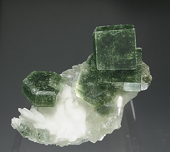 Fluorapatite with Albite and Muscovite.