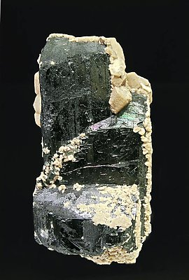 Ferberite with Siderite.