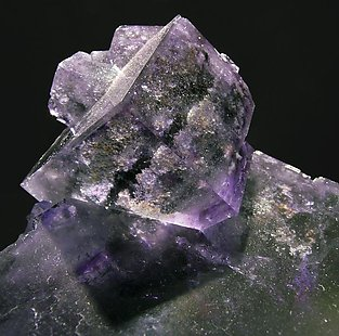 Fluorite with inclusions.