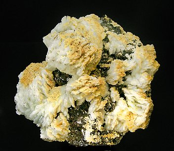 Kosnarite with Albite and Muscovite.