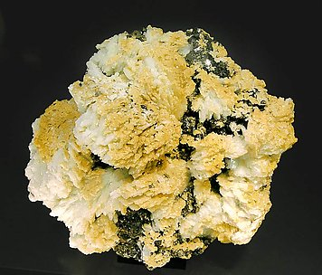 Kosnarite with Albite and Muscovite. Top