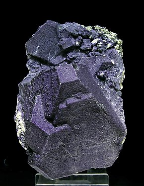 Octahedral Fluorite with Mica.