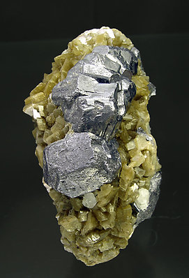 Galena with Siderite.