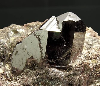 Rutile with Pyrophyllite.