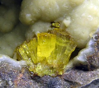 Legrandite with Smithsonite.