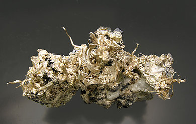 Silver with Acanthite. Top