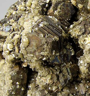 Pyrrhotite with Dolomite.