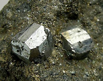Cobaltite with Pyrrhotite.