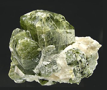 Diopside with Calcite. Front