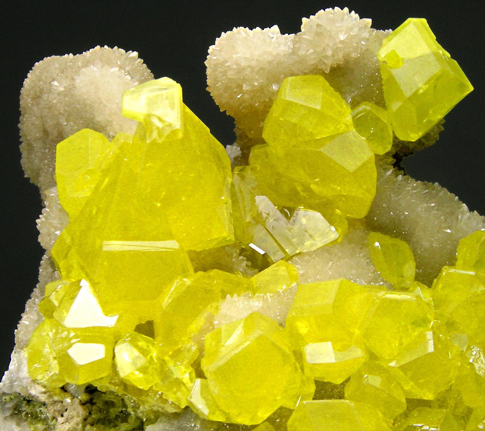 "Sulfur 5"" x 3"" - Celestial Earth Minerals |Sulfur Mineral"