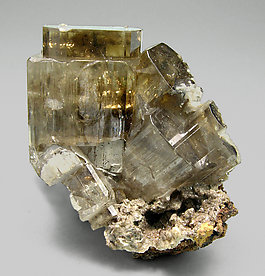 Phosgenite with Cerussite. Side