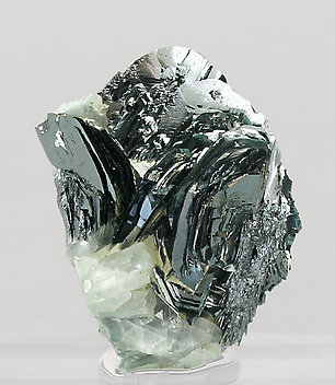 Hematite with Orthoclase (adularia).