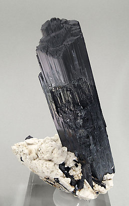 Arfvedsonite with Albite. Rear