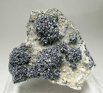 Franckeite with Quartz and Pyrite.