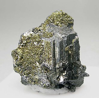 Polybasite with Pyrite.
