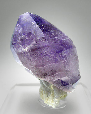 Quartz (variety amethyst) with smoky Quartz.