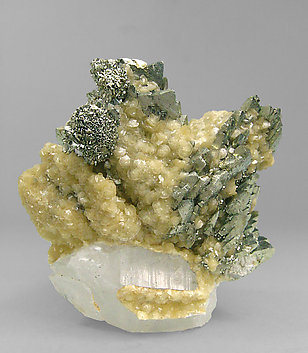 Marcasite-Arsenopyrite with Quartz and Siderite. Front