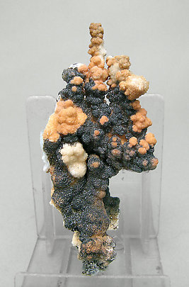 Plattnerite with Calcite.