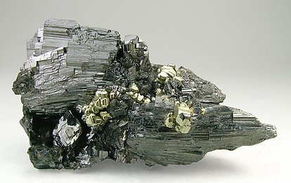 Enargite with Pyrite and Quartz.