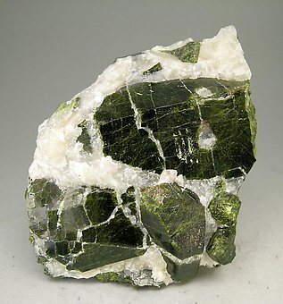 Epidote with Calcite.