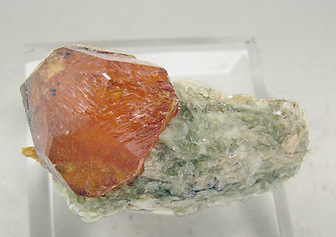 Spessartine with Kyanite and Mica. Top