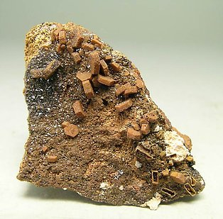 Descloizite after Vanadinite.