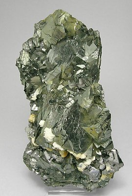 Tetrahedrite-Chalcopyrite with Galena, Quartz and Calcite.