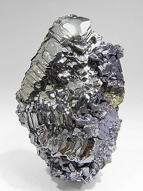 Tetrahedrite with Chalcopyrite and Galena. Side