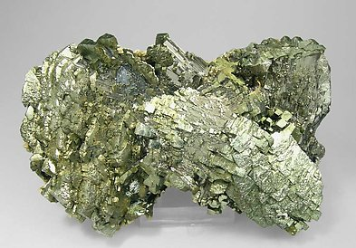 Epitactic Arsenopyrite-Marcasite with Calcite, Siderite and Chalcopyrite. Side