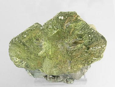 Chalcopyrite with Arsenopyrite, Siderite and Muscovite. Top