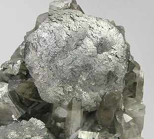 Arsenopyrite with Quartz.