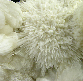 Mesolite with Stilbite.