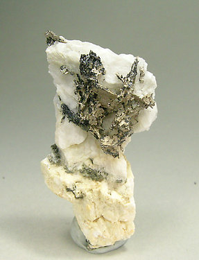 Dyscrasite with Silver, Allargentum and Calcite.