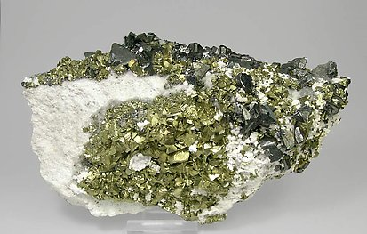 Chalcopyrite with Tetrahedrite and Dolomite.