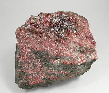 Cinnabar with Mercury.