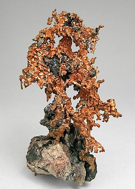 Copper with Cuprite. Front