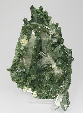 Quartz with Clinochlore.