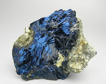 Covellite with Pyrite.