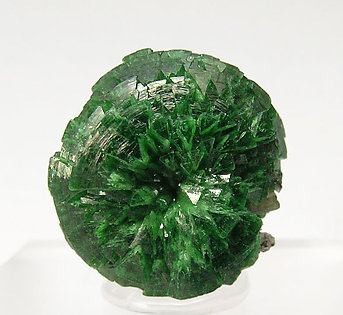 Adamite (variety cuprian) with Wulfenite.