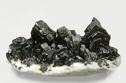 Descloizite with Calcite. Side