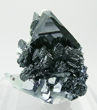 Sphalerite with Quartz and Galena. Side